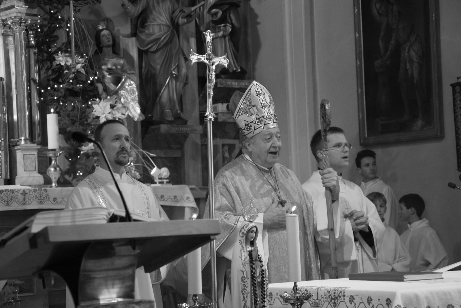 Našemu nadškofu v slovo